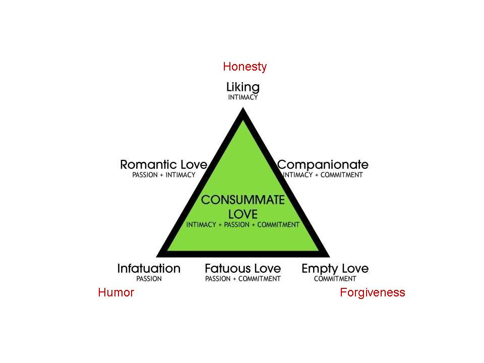 triangle theory of love essay Sternberg's triangular theory of love scales related articles john m grohol, psyd dr john grohol is the founder & ceo of psych central he is an author, researcher and expert in mental.