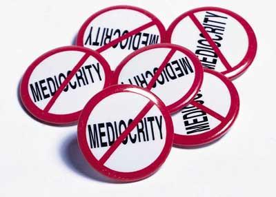 mediocrity